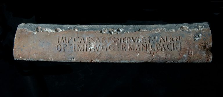 Water pipe for the Emperor Vespasian