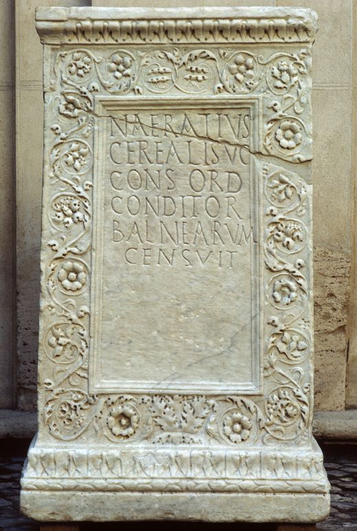 Base di statua di Naeratius Cerealis