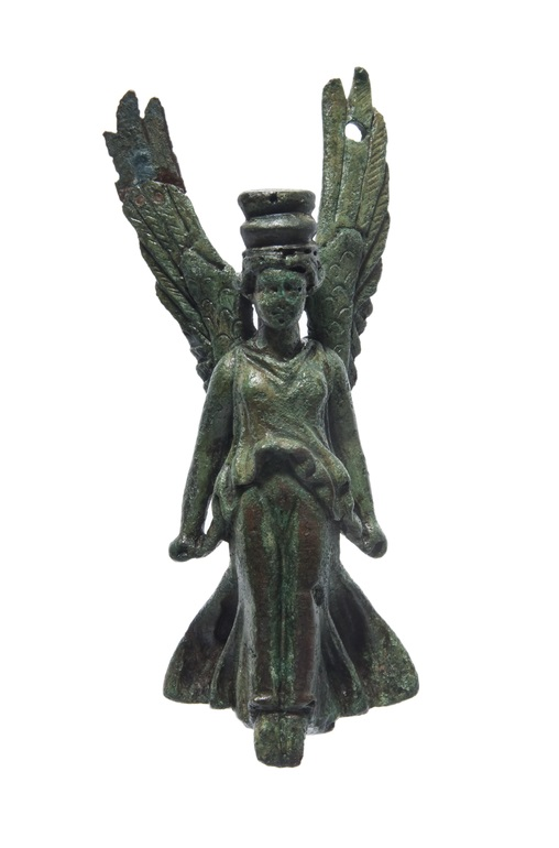 Small bronze figure of Winged Victory