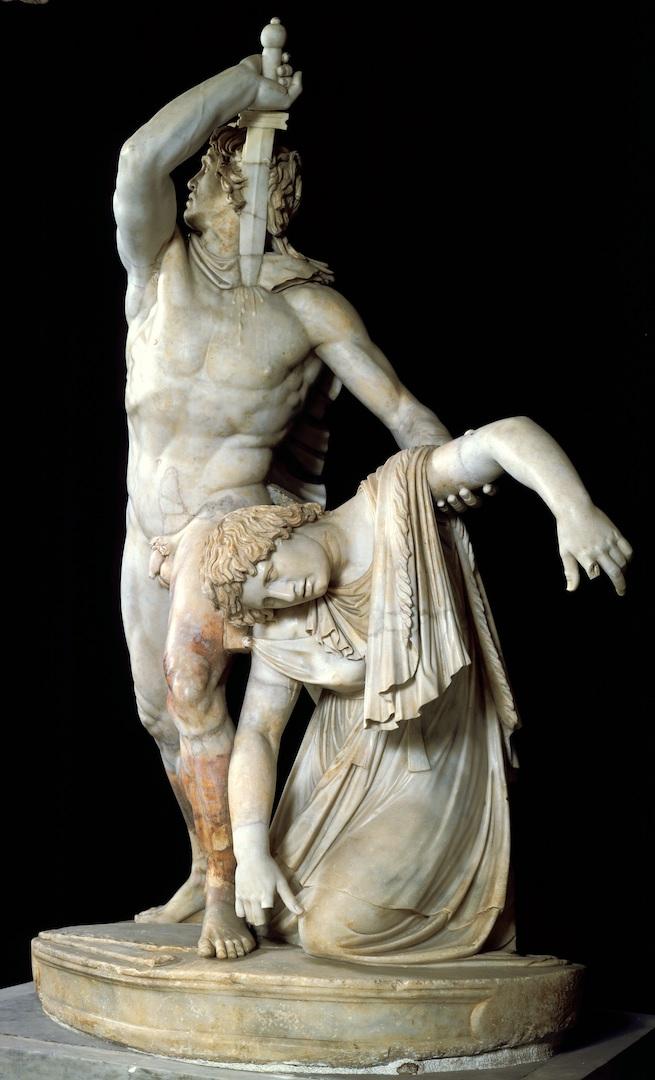 Ludovisi Gaul (Galatian Suicide)