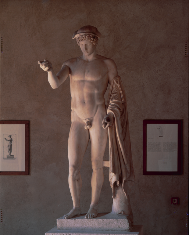 Statue of Hermes Loghios (Ludovisi Hermes)