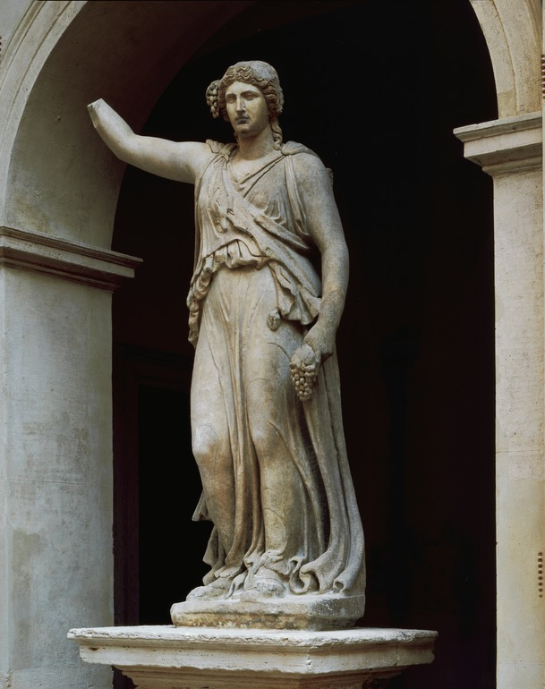 Statue of a maenad