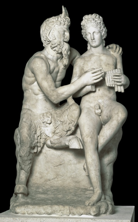 Statue of Pan and Daphnis