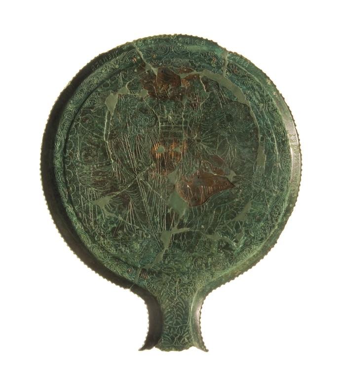Specchio in bronzo