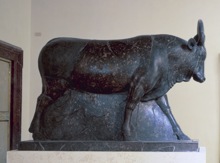 Statue of the bull Api