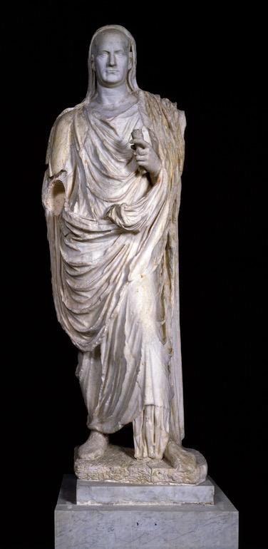 Statue of a togatus