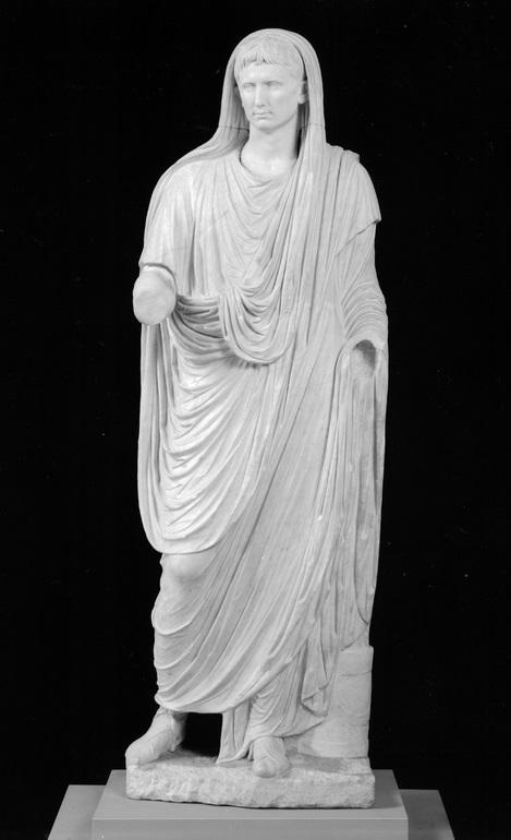 Statua di Augusto Pontefice Massimo